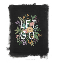 Wall Art | Let Go - TheInkBucketstore