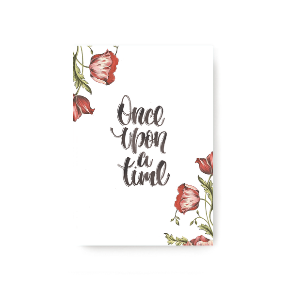 Once Upon A Time Notebook - TheInkBucketstore