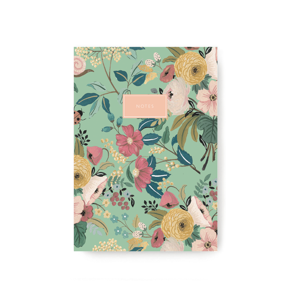 Green Garden Notebook - TheInkBucketstore