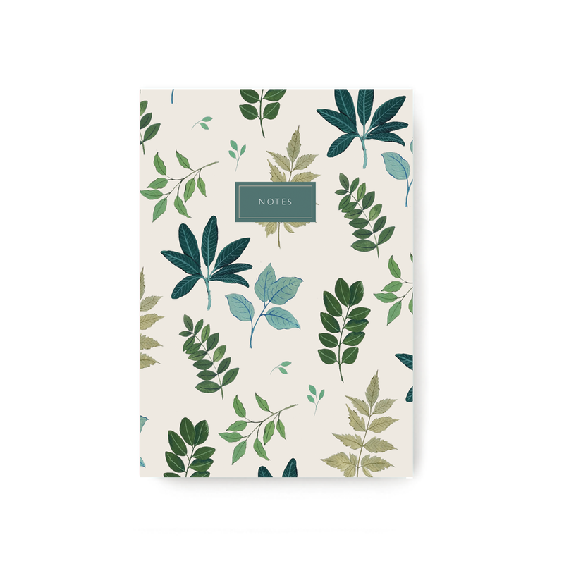 Leaves Notebook - TheInkBucketstore