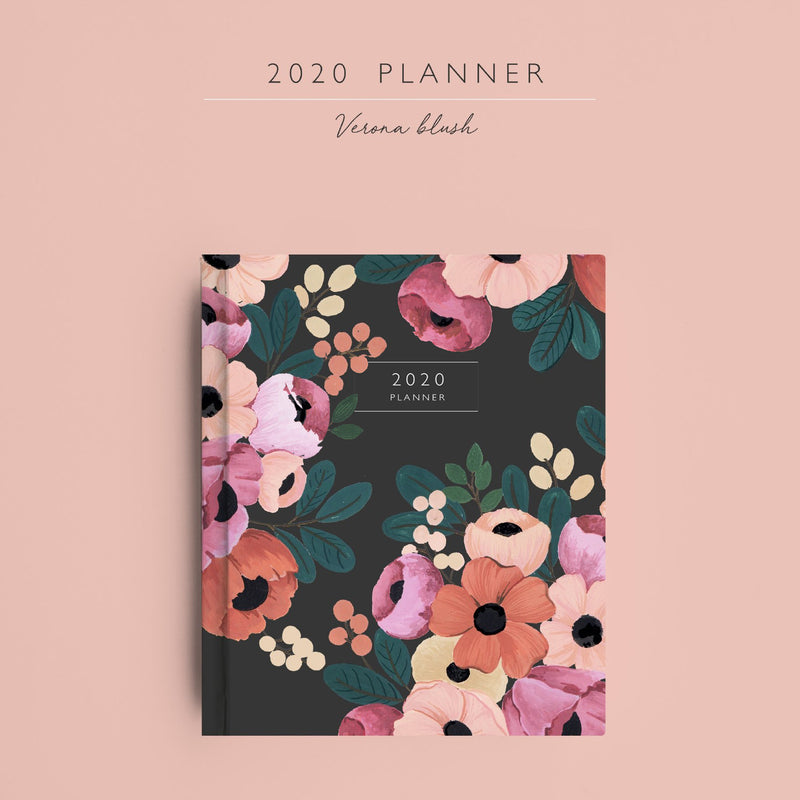 2020 Planner | Verona Blush - TheInkBucketstore