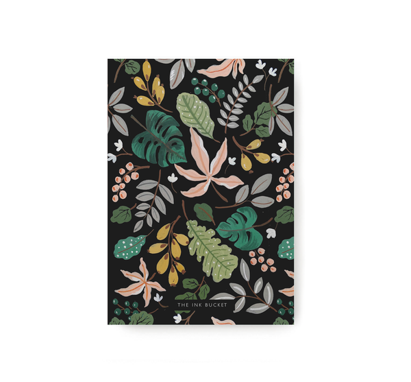 Leaves Pocket Notebook - TheInkBucketstore