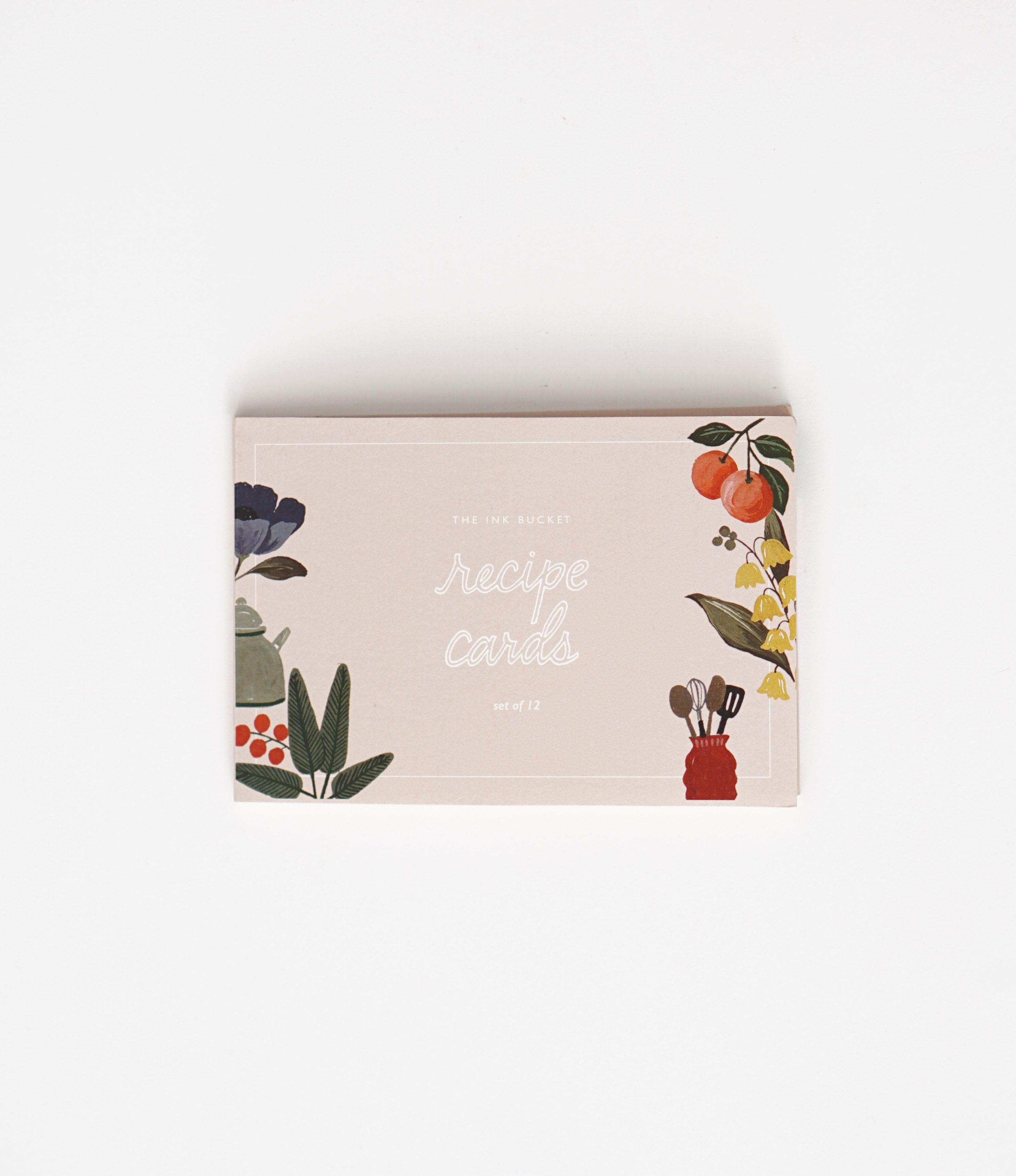 Recipe cards | Kitchen Shelf (set of 12)