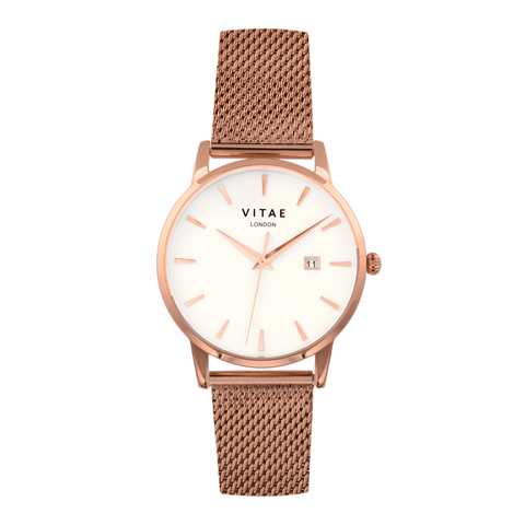 Walmer - Rose Gold - 40mm
