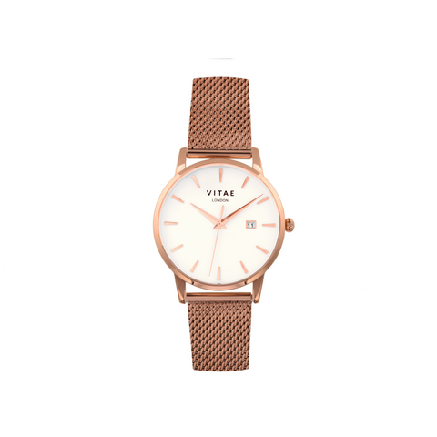 Walmer - Rose Gold - 34mm