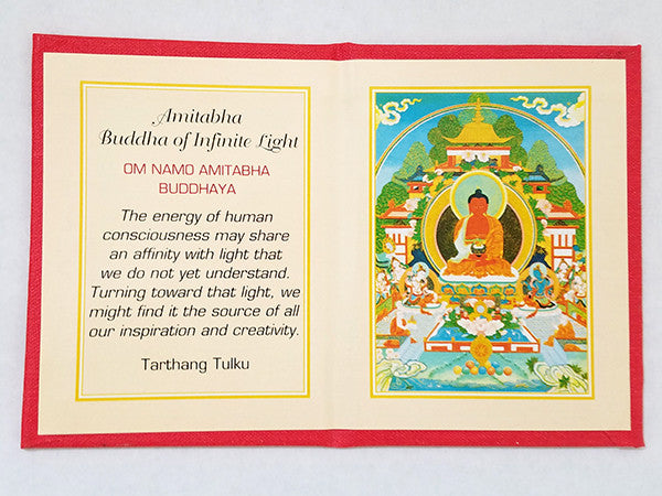 Amitabha Folding Thangka
