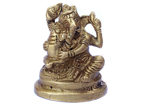 Ganesh Embracing Lingam Figurine