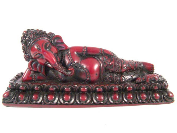 Sleeping Ganesh Statue
