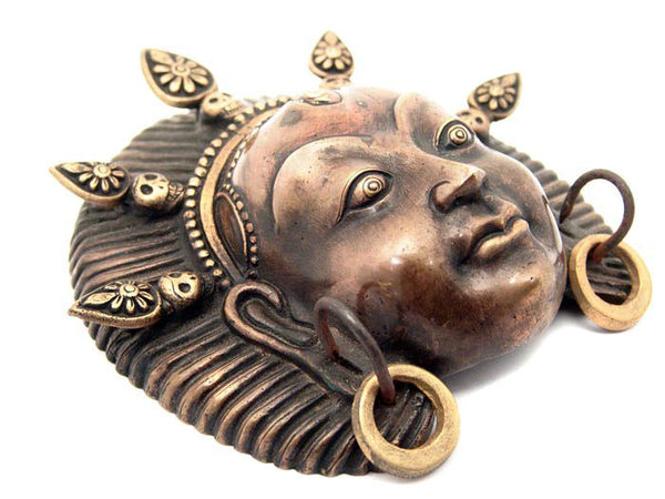 Nepalese Kumari Face Protection Mask