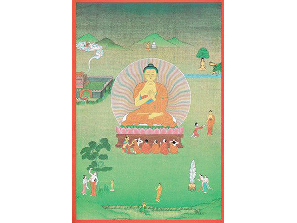 Buddha Folding Thangka