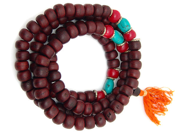 Large Bodhi Seed Prayer Beads Mala