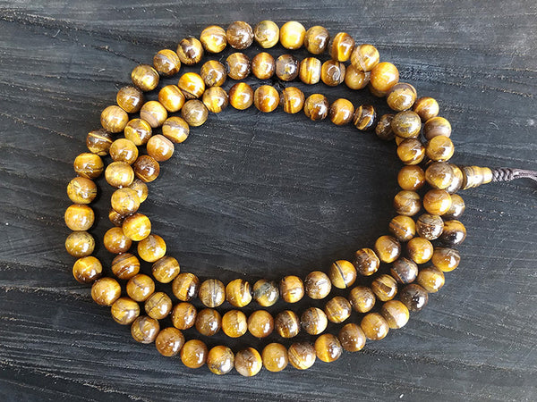 Tiger Eyes Prayer Beads Mala