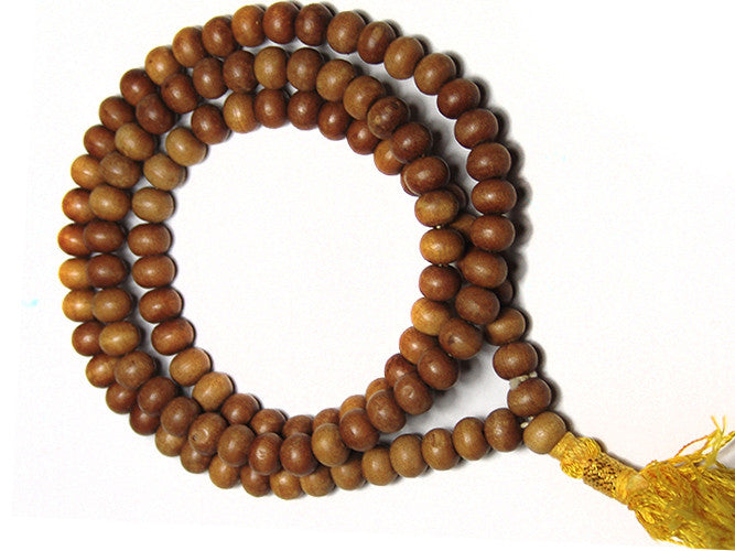 Plain Sandalwood Mala