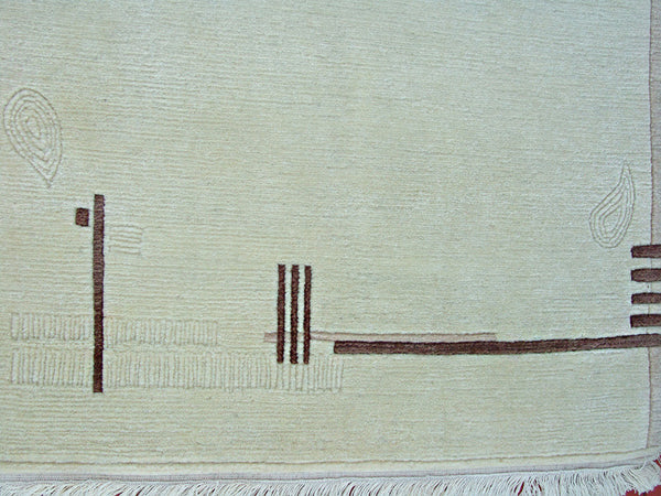 Beautiful Tibetan Area Rug 3'X5'