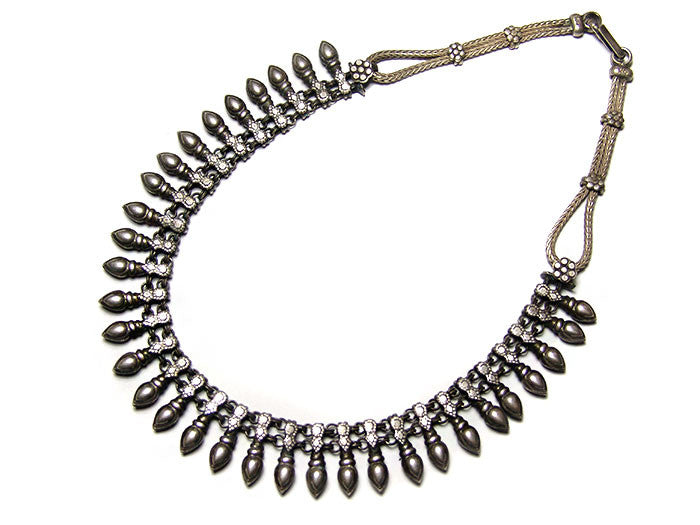 Silver Rajasthani Necklace