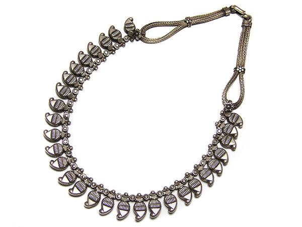 Traditional Rajasthani Silver Necklace