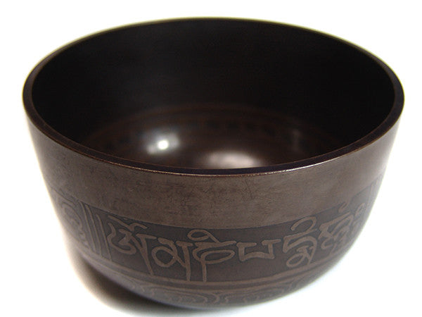 D Sacral Chakra Buddha Eyes Singing Bowl 4""
