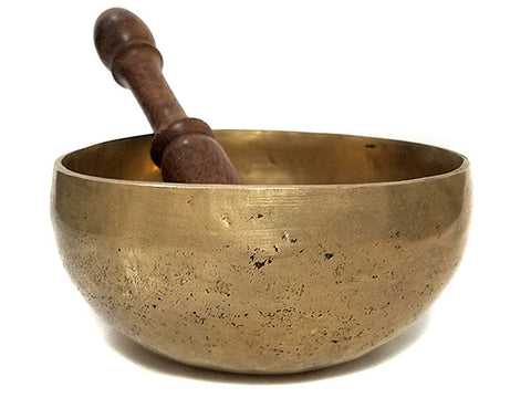 C Root Chakra Natural Tibetan Singing Bowl 5.5""