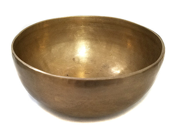 Beautiful D Sacral Chakra Old Tibetan Singing Bowl 7""