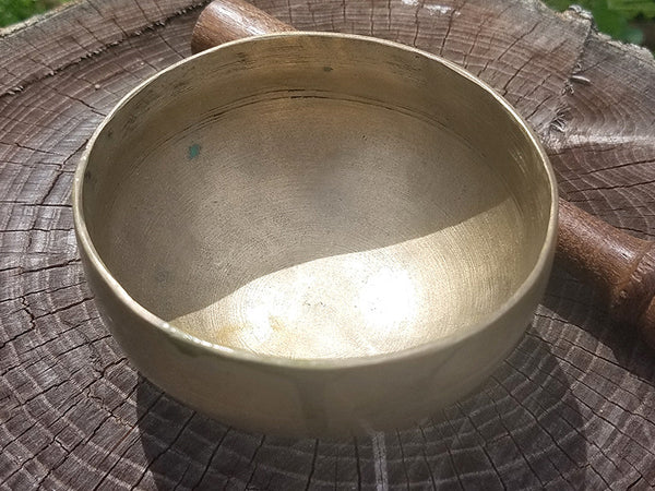 F Heart Chakra Tibetan Singing Bowl 4""