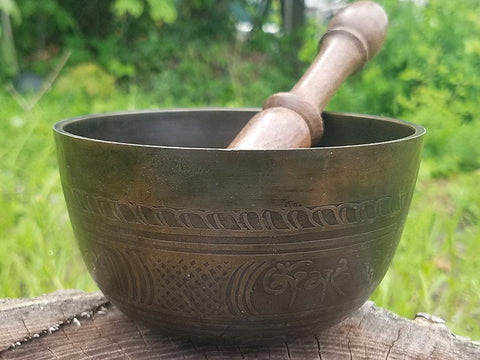 Buddha Lotus A 3rd Eye Chakra Singing Bowl