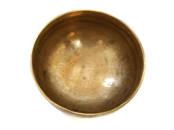 G Throat Chakra Old Tibetan Singing Bowl 5""