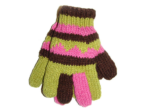 Lovely Tibetan Hand-Knitted Woolen Glove