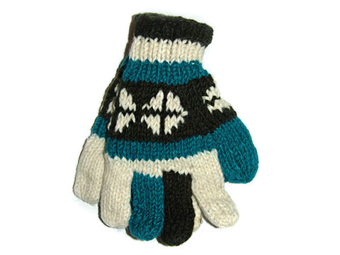 Magnificent Hand-Knitted Tibetan Woolen Glove