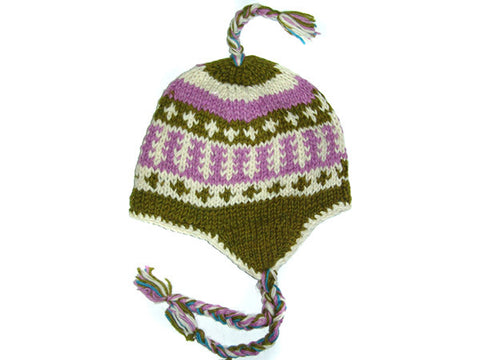 Dri Tibetan Hand Knitted Woolen Winter Hat