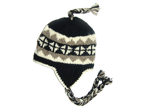 Dolpo Tibetan Hand Knitted Woolen Winter Hat