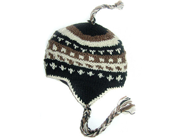 Everest Tibetan Hand Knitted Woolen Winter Hat