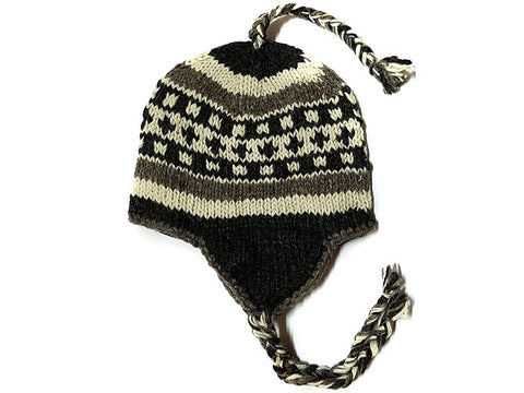 Summit Tibetan Hand Knitted Woolen Winter Hat
