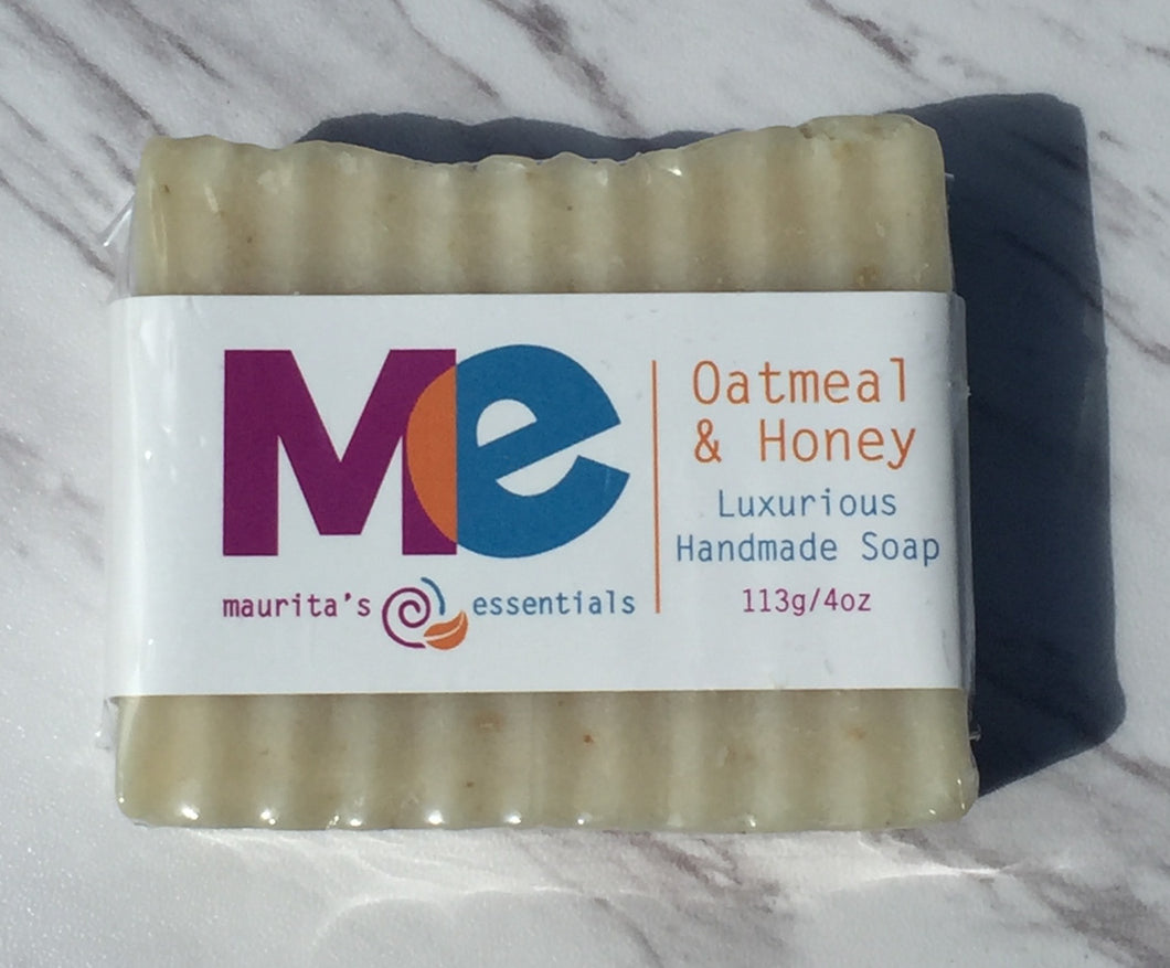 Maurita's Essentials Oatmeal and Honey Soap