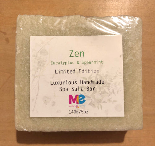 Maurita's Essentials Zen Spa Sea Salt Bar - Limited Edition