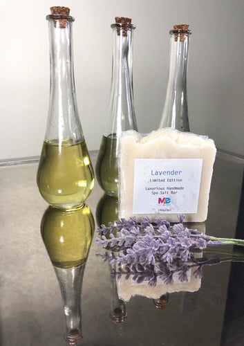 Maurita's Essentials Lavender Salt Bar - Limited Edition