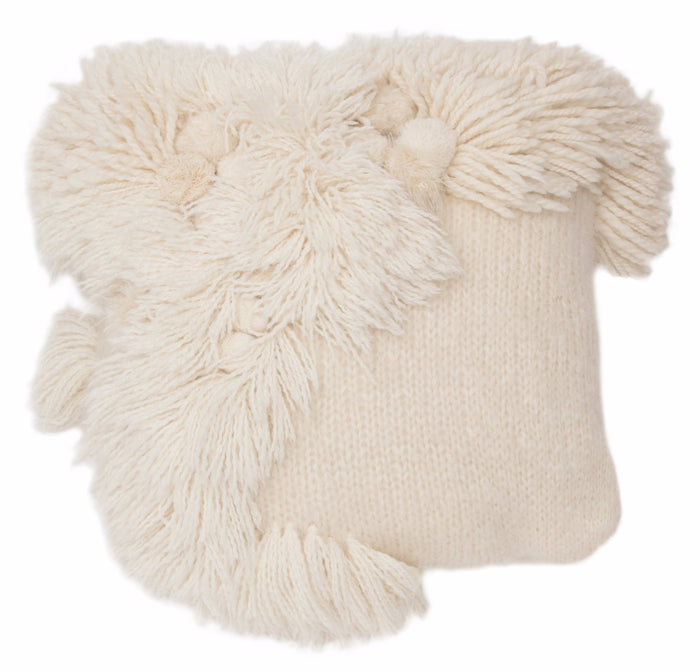 mala fringe wave cushion