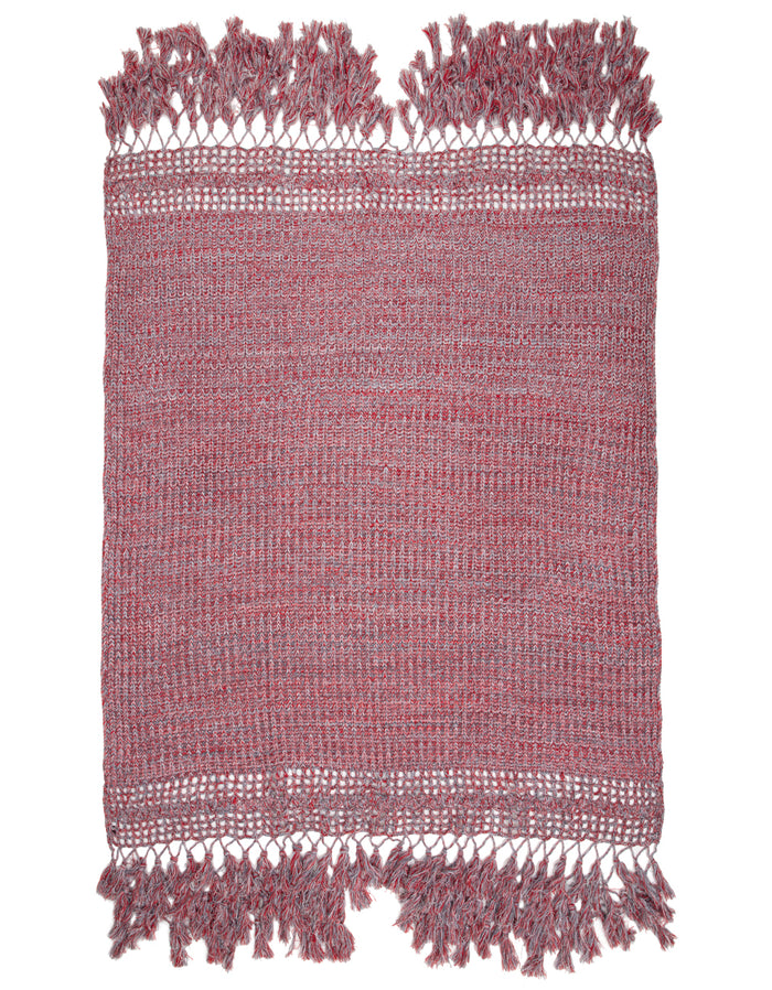 Arcadian Throw Red