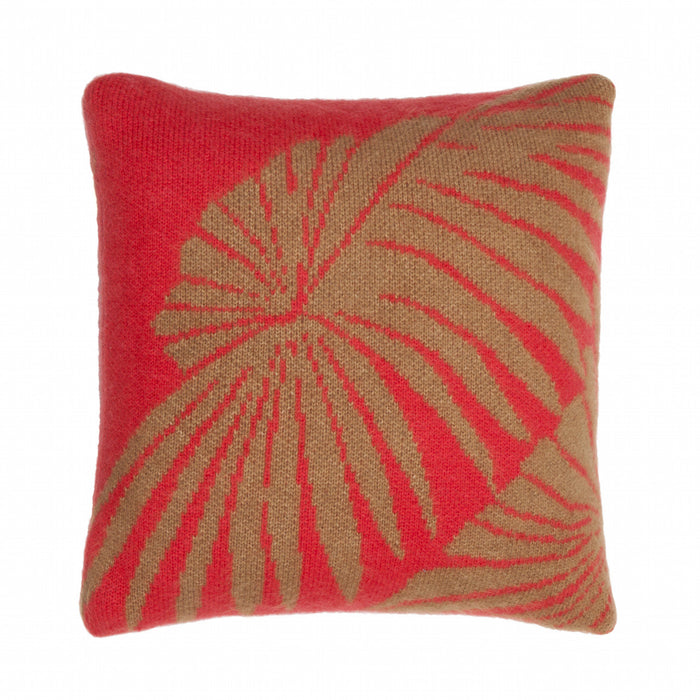 Loulan pandora cushion red and oat