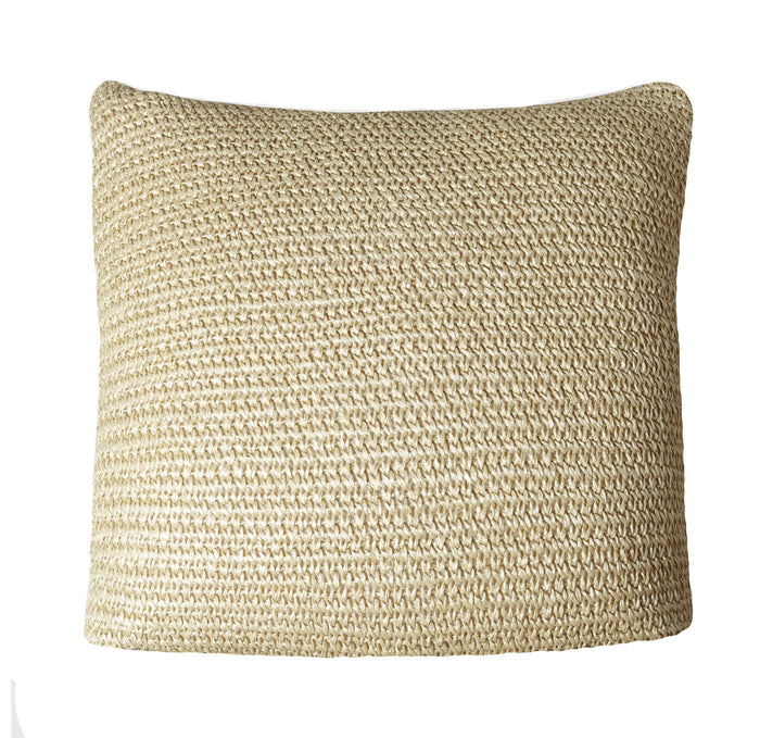 mojave crochet cushion sand