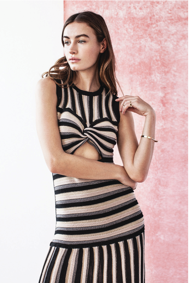 Millais Stripe Dress