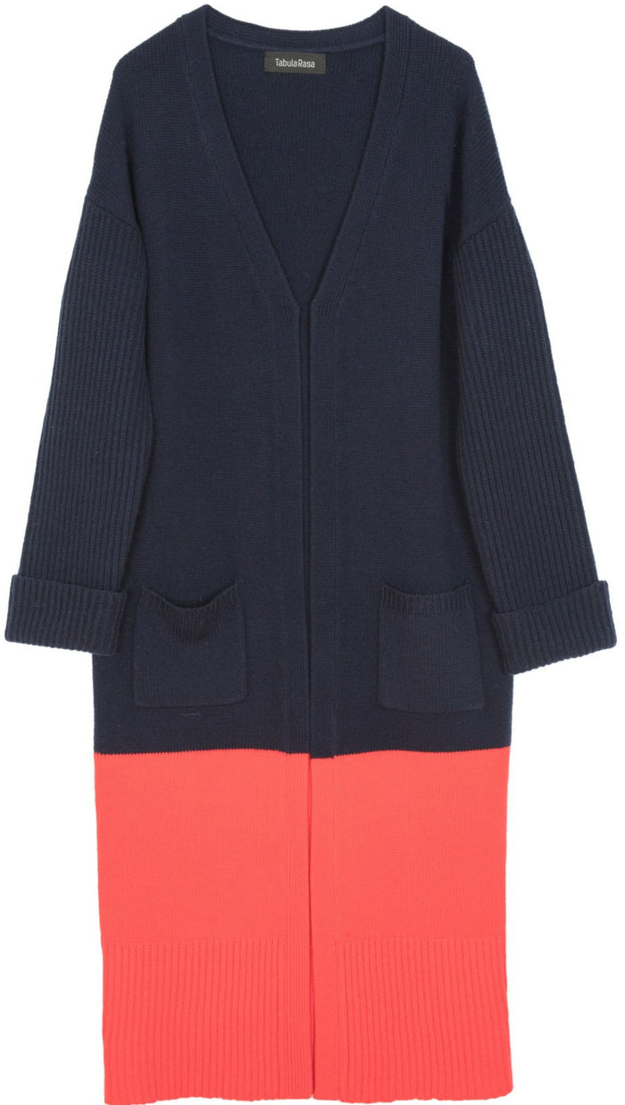 Babur Colorblock Cardigan
