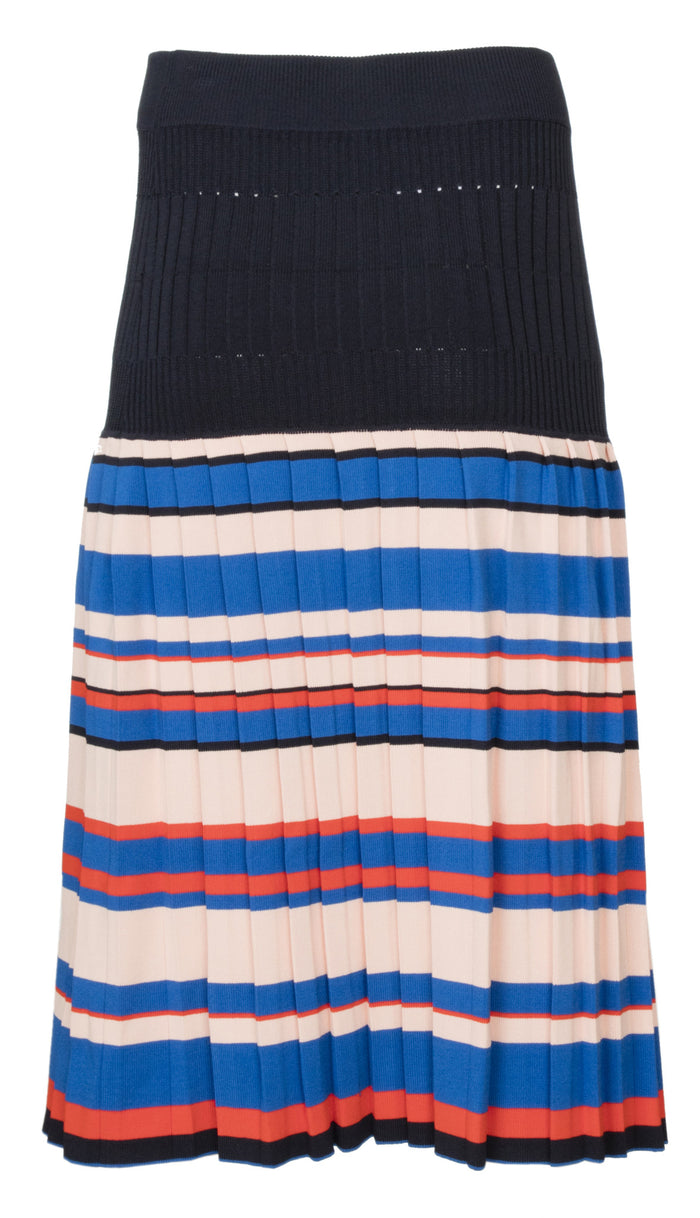 Aracari Multi Color Stripe Skirt