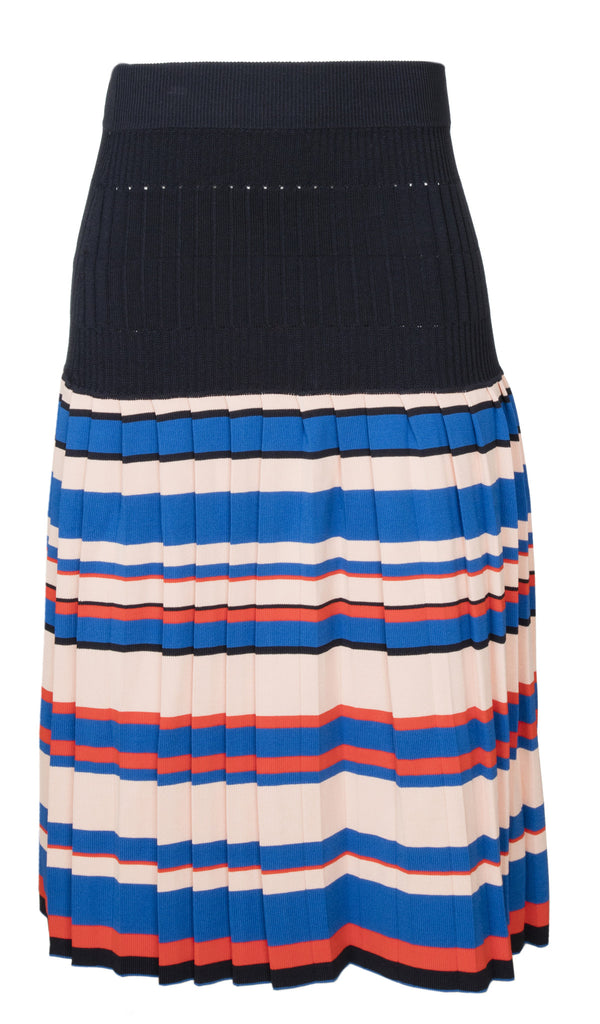 Aracari Multi Color Stripe Skirt Back