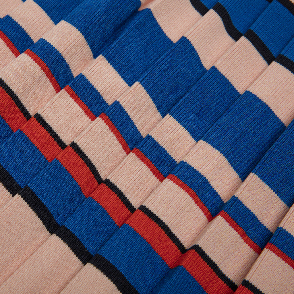 Aracari Multi Color Stripe Skirt Detail