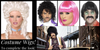 Costume Wigs to complete that unique costume look you are going for. We stock a large selection of costume wigs for men and women