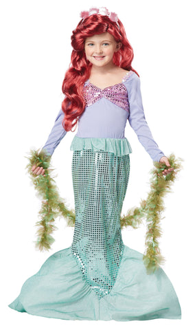 Girl's Little Mermaid Child Costume
