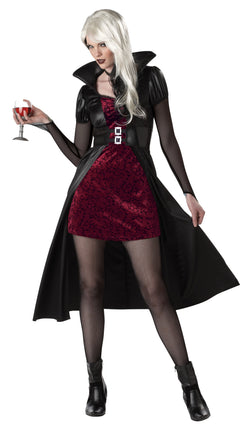 Women's Blood Thirsty Beauty Adult Vampire Costume - The Halloween Spot