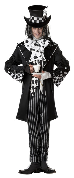 Men's Dark Mad Hatter Adult Costume - The Halloween Spot