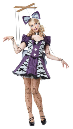 Women's Marionette Adult Costume