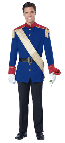 Men's Storybook Prince Adult Costume